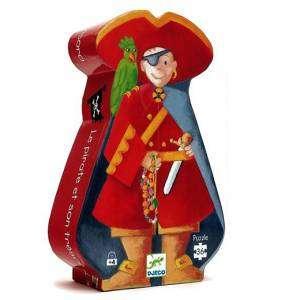 Gioco 4+ Djeco Puzzle 36pz Pirata