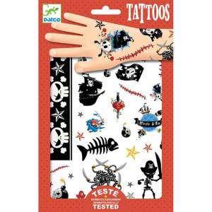 Tatuaggi Djeco Pirati