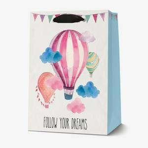 Sacchetto 26,5x32,5x11,5cm Legami Air Balloons