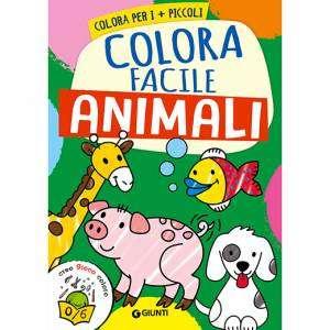 LIBRO COLORA FACILE ANIMALI
