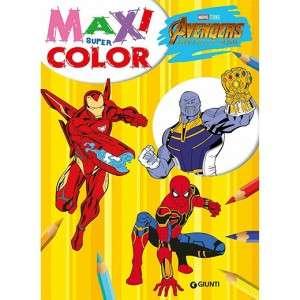 Libro da Colorare Avengers