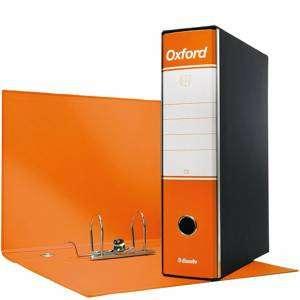 Registratore 2 Anelli 23x30x8cm c/scatola Esselte Oxford Arancione