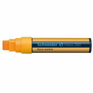 Marcatore Gesso Liquido Schneider Maxx 260 Arancione