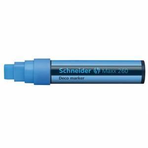 Marcatore Gesso Liquido Schneider Maxx 260 Azzurro