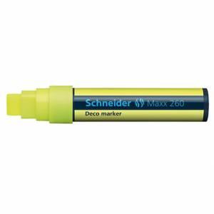 Marcatore Gesso Liquido Schneider Maxx 260 Giallo
