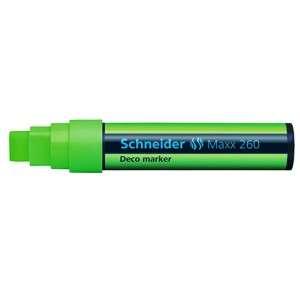 Marcatore Gesso Liquido Schneider Maxx 260 Verde