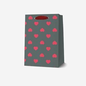 SACCHETTO C/MANICI 10x15x6,5cm small LEGAMI HEARTS