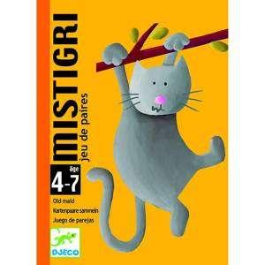 GIOCO CARTE 4-7 DJECO MISTIGRI