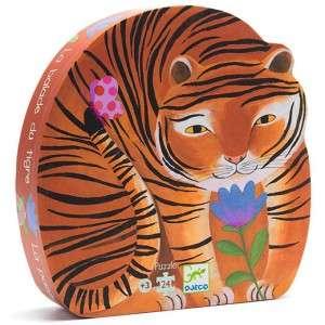 Gioco 3+ Djeco Puzzle 24pz Tigre