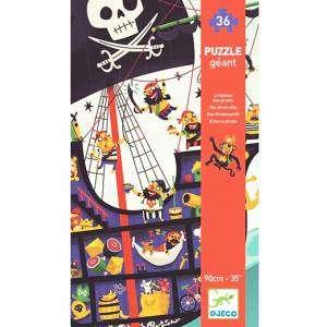 Gioco 4+ Djeco Puzzle 36pz The Pirate Ship