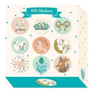 Stickers Djeco 100pz Bollini Lucille