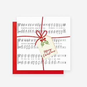 Biglietto Natale  7x7cm Legami
