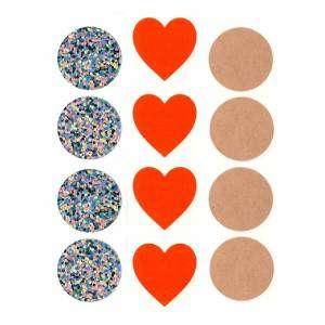 Stickers ChiudiPacco Diam.30mm 12pz