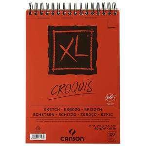 ALBUM CANSON XL CROQUIS 120 FOGLI 90gr A4