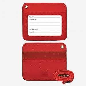 Porta Badge c/Cordino Legami Red