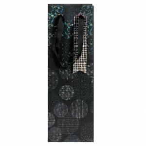 Sacchetto Bottiglia 12x35x8cm Artebene Black Label