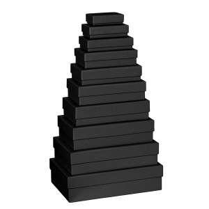 Scatola Stewo Nero  5,5x8x2,5cm