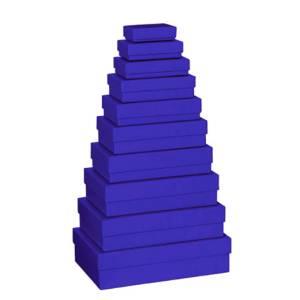 Scatola Stewo Blu  5,5x8x2,5cm