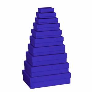 Scatola Stewo Blu  9x14x4cm