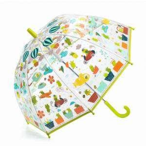 Ombrello Djeco trasparente Froglets