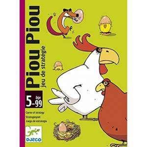 Carte Gioco Djeco 5-99+ Piou Piou