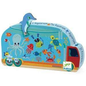 Gioco 3+ Djeco Puzzle 16pz The Aquarium
