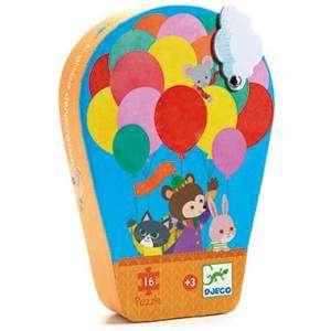 Gioco 3+ Djeco Puzzle 16pz The Hot air Balloon