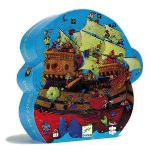 Gioco 5+ Djeco Puzzle 54pz La Nave di Barbarossa
