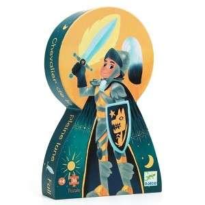 Gioco 4+ Djeco Puzzle 36pz Cavaliere della Luna