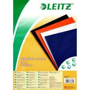 Copertina Rilegature A4 180my 100pz PVC Trasparente Leitz