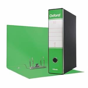 Registratore 2 Anelli 23x30x8cm c/scatola Esselte Oxford Verde