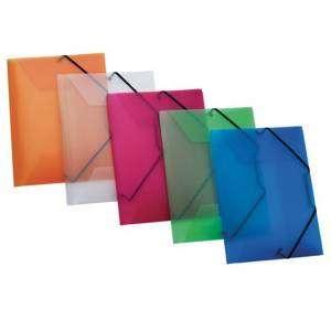 Cartella c/Elastico Plastica 24x32cm Favorit Lumina Colori Ass.ti