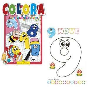 Libro Colora Gli Allegri Numeretti