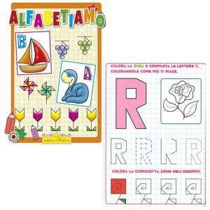 Libro Colora Alfabetiamo