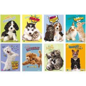 Quaderno Maxi A4_Quad. 5mm/M_100gr Blasetti Small Pets