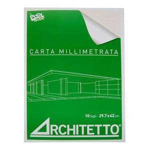 Album Carta Millimetrata A3 72gr 10fg