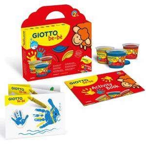 Set Colori a dita Giotto Bebè