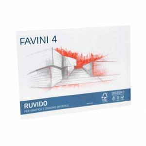 Album Disegno 24x33cm 220gr 20fg c/Angoli Favini Ruvido