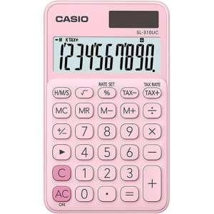 Calcolatrice Casio SL-310UC Rosa Pastello