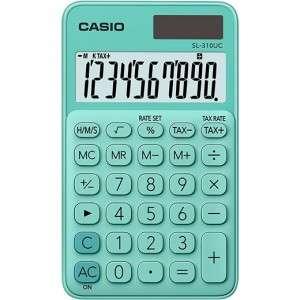 Calcolatrice Casio SL-310UC Verde Pastello