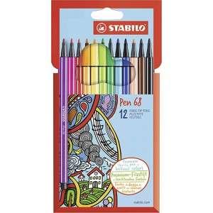 Pennarelli Stabilo Pen 68 12pz