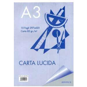 Album Carta da Lucido A3 82gr 10fg