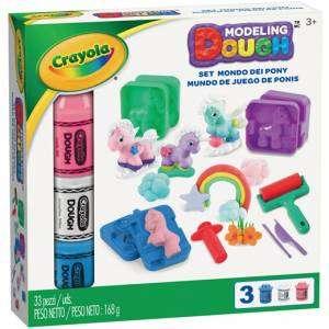 Crayola 3+ Pasta da Modellare Set Mondo dei Pony