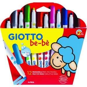 Pennarelli Giotto Bebè 12pz Lavabili