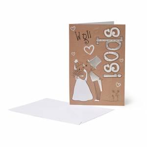 Biglietto Matrimonio 12x18cm