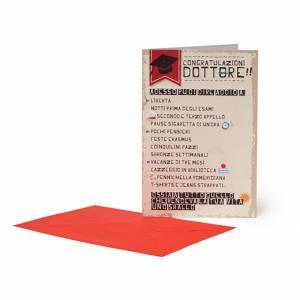 Biglietto Laurea 12x18cm