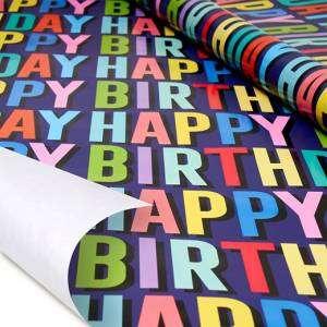 Carta Regalo Rotolo 70x200cm Legami Happy Birthday