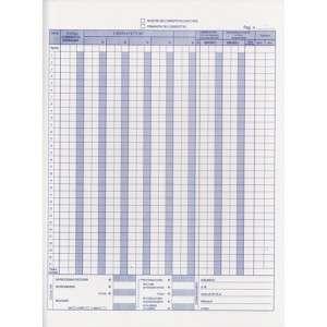 Registro IVA Corrispettivi 23x30cm 12x2 Copie Autoricalcante