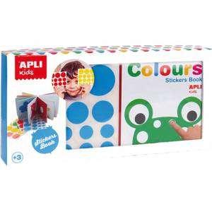 Stickers Book 3+ Apli Kids