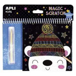 Magic Scratch 3+ Apli Kids Winter